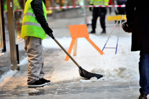 Snow Removal From Sidewalk